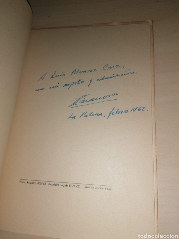 Libros de segunda mano: Otoño Mío. Félix Casanova de Ayala. 1962. Dedicatoria Autógrafa - Foto 2 - 253992455