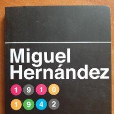 Libros de segunda mano: 2017 MIGUEL HERNÁNDEZ - POESÍAS Y RASGOS BIOGRÁFICOS. Lote 254017705