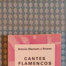 Libros de segunda mano: CANTES FLAMENCOS, COLECCION AUSTRAL, MUY NUEVO, 1975. Lote 254585220