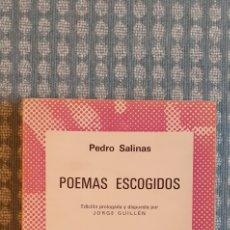 Libros de segunda mano: POEMAS ESCOGIDOS, 1972,. Lote 254587435