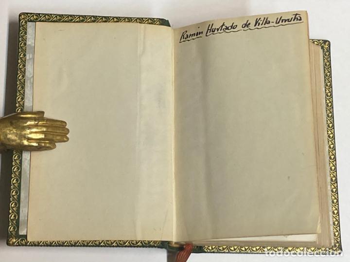 Libros de segunda mano: AÑO 1945 - OBRAS POÉTICAS COMPLETAS DE RUBÉN DARÍO - AGUILAR COLECCIÓN JOYA EDICIÓN DE LUJO - Foto 3 - 254985325