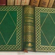 Libros de segunda mano: AÑO 1945 - OBRAS POÉTICAS COMPLETAS DE RUBÉN DARÍO - AGUILAR COLECCIÓN JOYA EDICIÓN DE LUJO. Lote 254985325