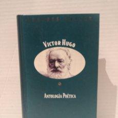 Libros de segunda mano: ANTOLOGÍA POÉTICA, DE VICTOR HUGO. COLECCIÓN GRANDES POETAS (ORBIS FABBRI). EDICIÓN BILINGÜE.. Lote 255667805