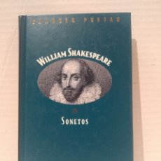 Libros de segunda mano: TEXTO BILINGÜE. SONETOS. SHAKESPEARE, WILLIAM. COL. GRANDES POETAS. ED. ORBIS.. Lote 255667865