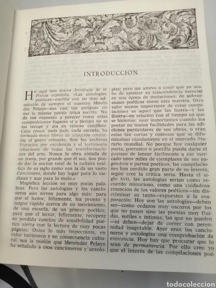 Libros de segunda mano: HISTORIA Y ANTOLOGÍA DE LA POESÍA ESPAÑOLA . En lengua castellana. Tomo I : Siglo X-XIX - Foto 22 - 205648735