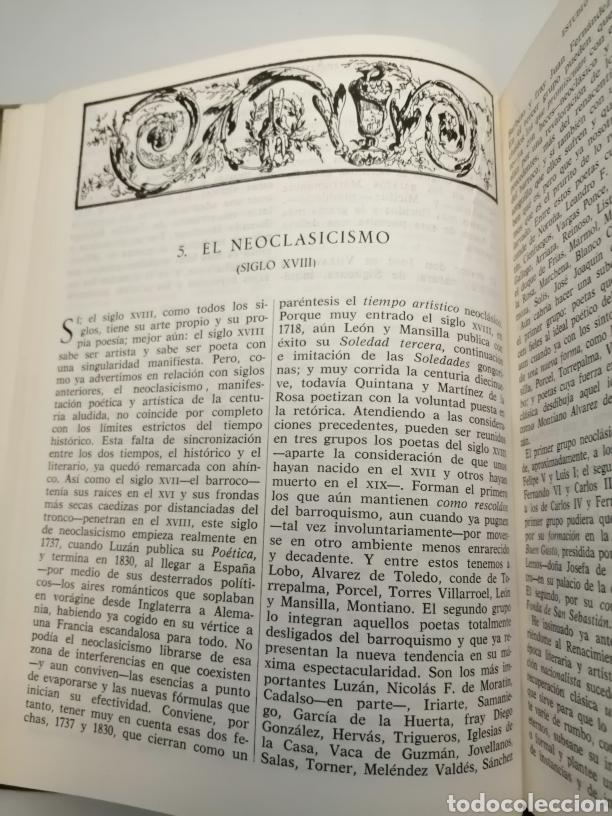 Libros de segunda mano: HISTORIA Y ANTOLOGÍA DE LA POESÍA ESPAÑOLA . En lengua castellana. Tomo I : Siglo X-XIX - Foto 27 - 205648735