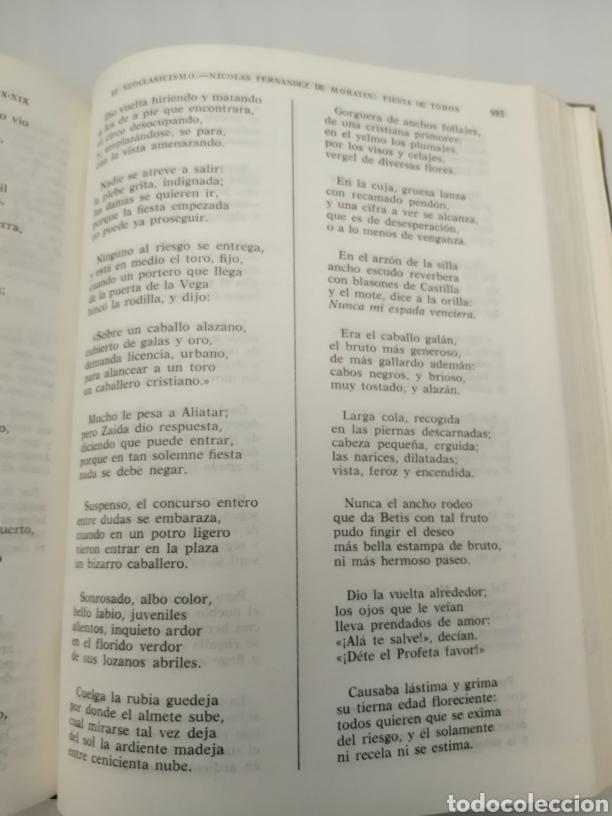 Libros de segunda mano: HISTORIA Y ANTOLOGÍA DE LA POESÍA ESPAÑOLA . En lengua castellana. Tomo I : Siglo X-XIX - Foto 30 - 205648735