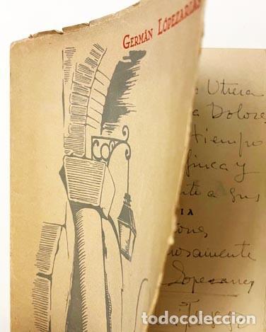 GERMÁN LOPEZARIAS : ALMA BOHEMIA (1ª ED., 1950) CON AUTÓGRAFO DEL AUTOR. (Libros de Segunda Mano (posteriores a 1936) - Literatura - Poesía)