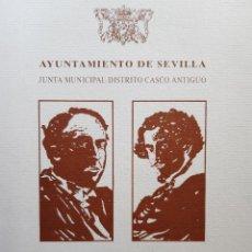 Libros de segunda mano: PREMIOS LITERARIOS ANTONIO MACHADO Y GUSTAVO ADOLFO BECQUER XII CONVOCATORIA SEVILLA 1994. Lote 257556710