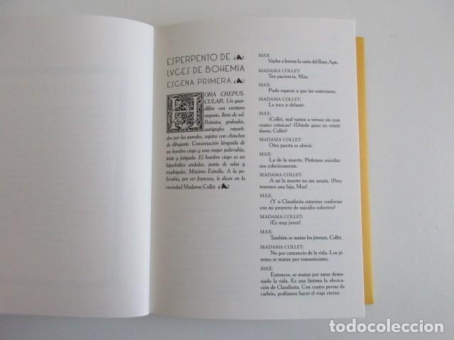 Libros de segunda mano: LUCES DE BOHEMIA ILUSTRADO POR MÁS DE 200 ARTISTAS DON RAMÓN DEL VALLE INCLÁN + PÓSTER EDITORIAL - Foto 9 - 258034420