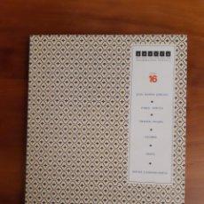 Libros de segunda mano: REVISTA COLECCIÓN POESIA N.º 16 ILUSTRADA DE INFORMACIÓN POÉTICA CEESEPE CANSIONOS-ASSENS NERUDA. Lote 260750665