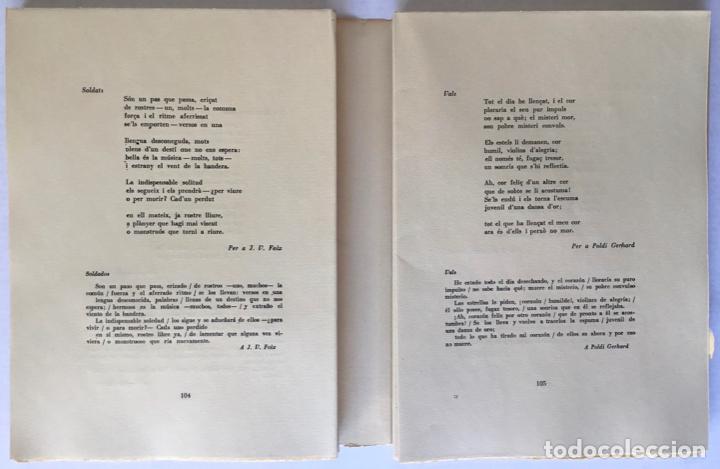 Libros de segunda mano: OBRA POÉTICA. ANTOLOGÍA. Texto original y versiones castellanas. - RIBA, Carles. - Foto 6 - 260808430