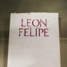 Libros de segunda mano: LEÓN FELIPE. ANTOLOGÍA POÉTICA 1884-1984. CSIC. TIRADA LIMITADA. Lote 262024100