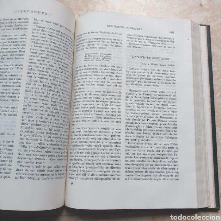 Libros de segunda mano: Obres Completes Jacinto Verdaguer Biblioteca Perenne 1946 en Catalán - Foto 5 - 262343940