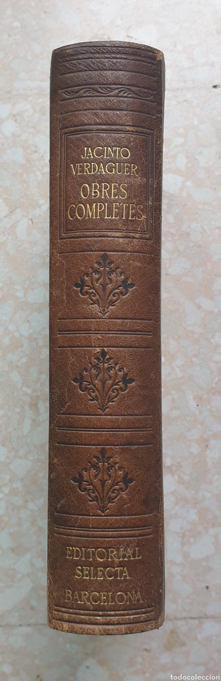 OBRES COMPLETES JACINTO VERDAGUER BIBLIOTECA PERENNE 1946 EN CATALÁN (Libros de Segunda Mano (posteriores a 1936) - Literatura - Poesía)