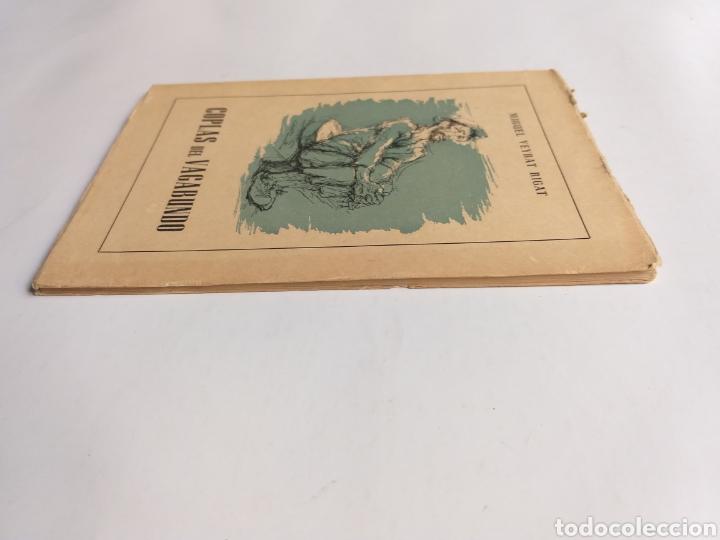 Libros de segunda mano: Coplas del vagabundo por Miguel Veyrat Rigat 1959 - Foto 3 - 262361725