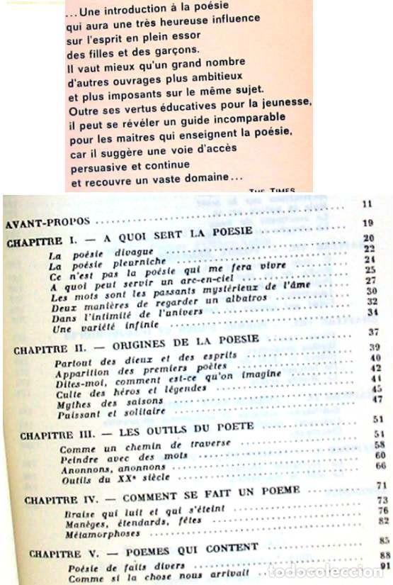 Libros de segunda mano: CLEFS POUR LA POESIE - YVES PERES / DAY LEWIS - EDITION SEGHERS 1973 - VER DESCRIPCIÓN E INDICE - Foto 2 - 263006985
