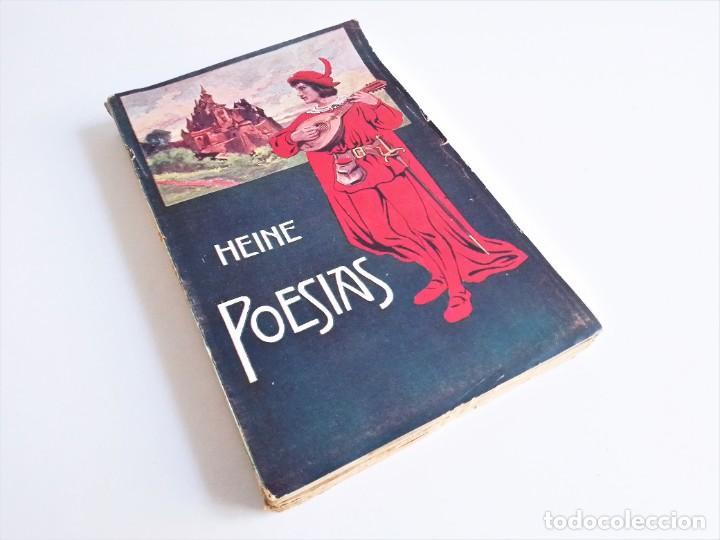 POESÍAS DE ENRIQUE HEINE, F. GRANADA Y C.ª, EDITORES (Libros de Segunda Mano (posteriores a 1936) - Literatura - Poesía)