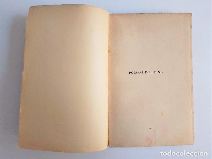 Libros de segunda mano: POESÍAS de ENRIQUE HEINE, F. GRANADA y C.ª, EDITORES - Foto 5 - 263010795