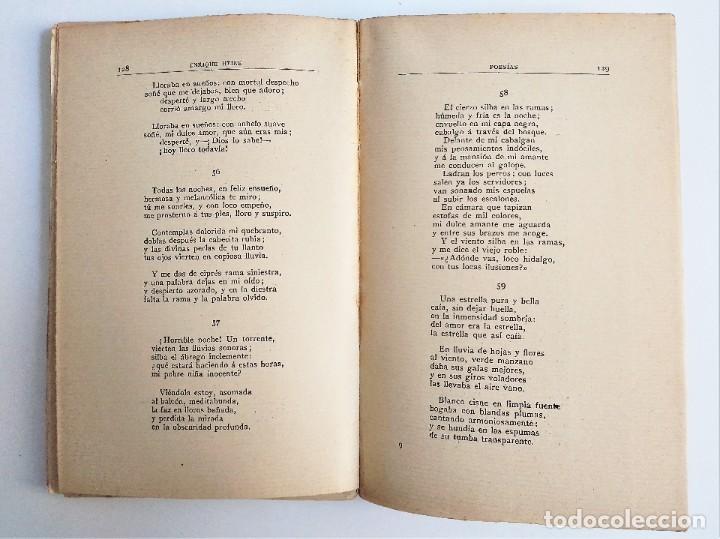 Libros de segunda mano: POESÍAS de ENRIQUE HEINE, F. GRANADA y C.ª, EDITORES - Foto 7 - 263010795
