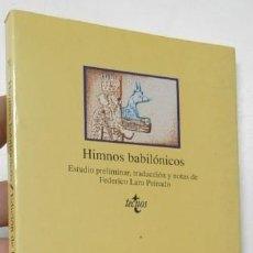 Libros de segunda mano: HIMNOS BABILÓNICOS. Lote 263013310