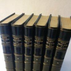 Libros de segunda mano: 1957 - JUSTO GARCÍA MORALES - PLIEGOS POÉTICOS GÓTICOS DE LA BIBLIOTECA NACIONAL. 6 TOMOS. Lote 263163700