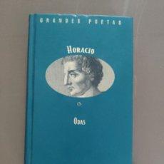 Libros de segunda mano: HORACIO - COL. GRANDES POETAS - ORBIS FABBRI - ODAS. Lote 263189500