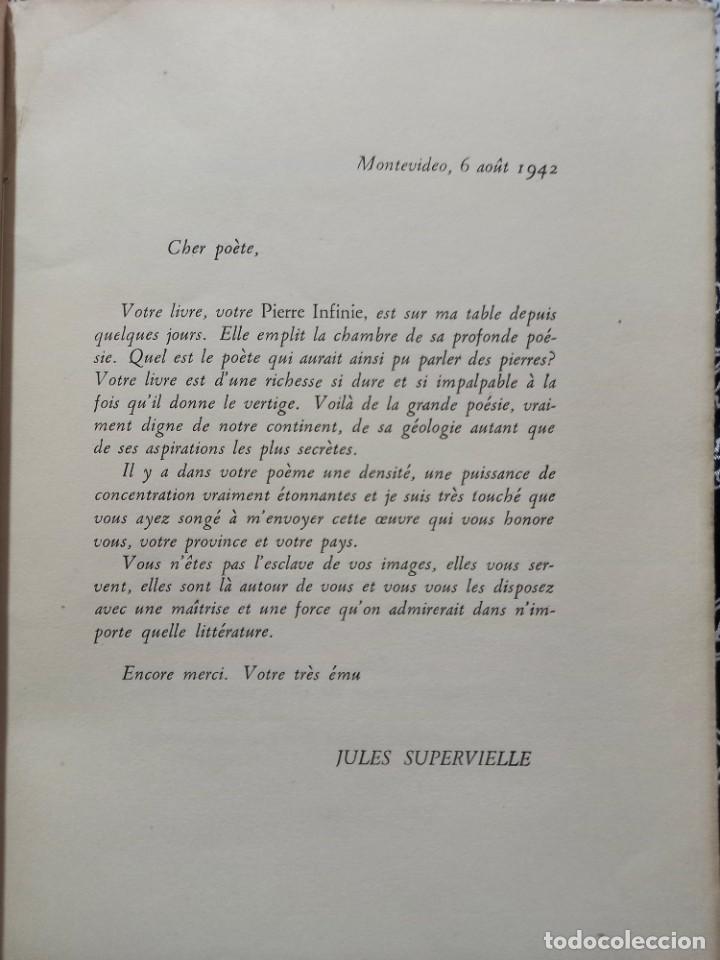 Libros de segunda mano: Piedra Infinita - Jorge Enrique Ramponi - Ilustró Spilimbergo - 1948 - Botella al mar - Numerado - Foto 3 - 263219160