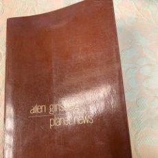 Libros de segunda mano: ALLEN GINSBERG,PLANETA NUEVO. Lote 263534030