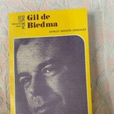 Libros de segunda mano: GIL DE BIEDMA. Lote 264028620