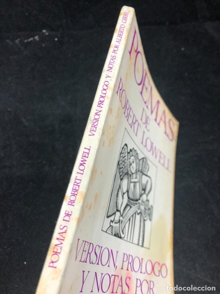 Libros de segunda mano: POEMAS de ROBERT LOWELL. VERSIÓN DE ALBERTO GIRRI. Editorial sudamericana 1969 - Foto 2 - 264312884