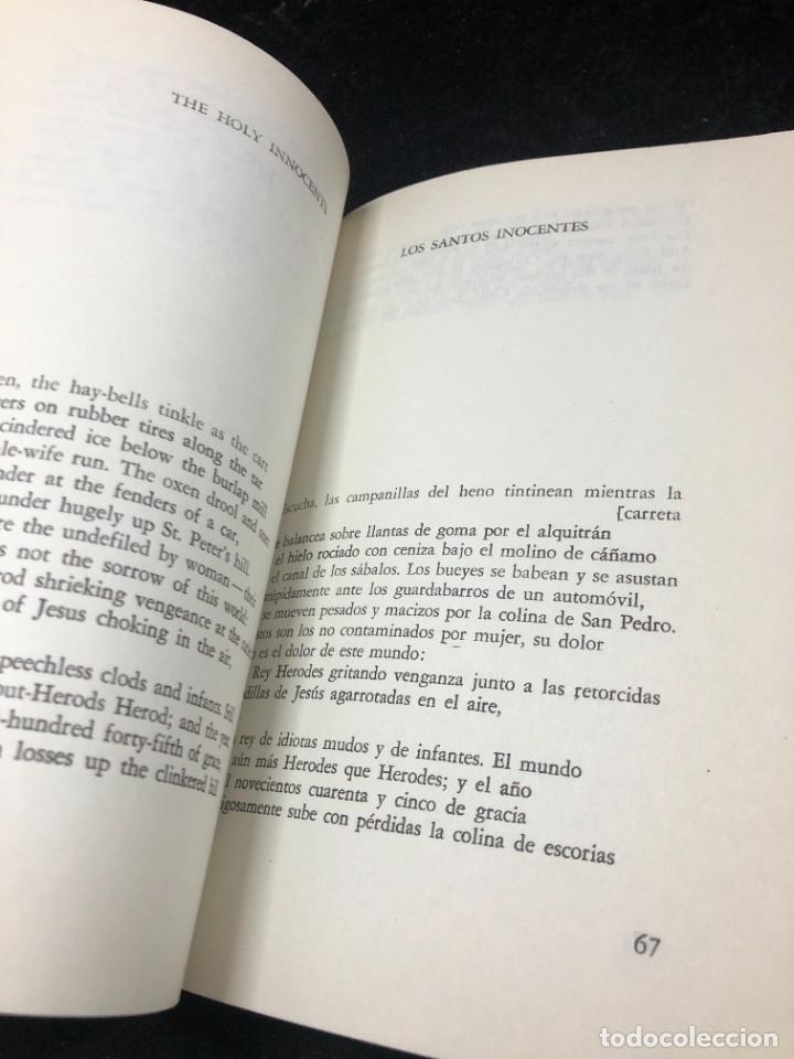 Libros de segunda mano: POEMAS de ROBERT LOWELL. VERSIÓN DE ALBERTO GIRRI. Editorial sudamericana 1969 - Foto 5 - 264312884