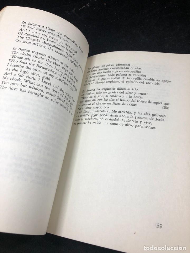 Libros de segunda mano: POEMAS de ROBERT LOWELL. VERSIÓN DE ALBERTO GIRRI. Editorial sudamericana 1969 - Foto 8 - 264312884