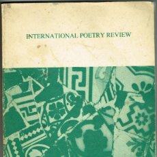Libros de segunda mano: INTERNATIONAL POETRY REVIEW CATALAN SPRING 1982 POESIA CATALANA. Lote 264683314