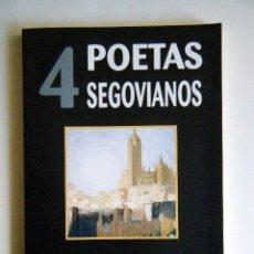"""Libros de segunda mano: VV. AA. """"4 POETAS SEGOVIANOS"""".. Lote 267716659"""