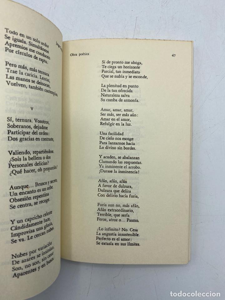 Libros de segunda mano: OBRA POÉTICA. ANTOLOGÍA. JORGE GUILLÉN. ALIANZA EDITORIAL. MADRID, 1972. PAGS: 236 - Foto 3 - 268572514