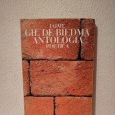 Libros de segunda mano: LIBRO - ANTOLOGIA POETICA - POESIA - GIL DE BIEDMA JAIME. Lote 269015424
