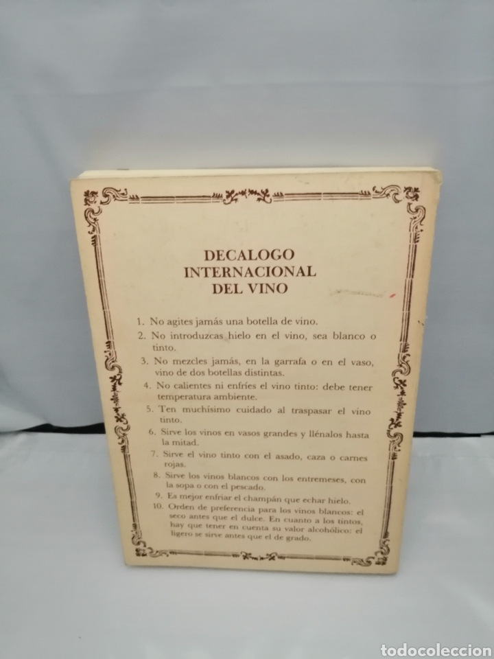 Libros de segunda mano: ANTOLOGÍA DEL VINO. VENDIMIA POÉTICA (PRIMERA EDICIÓN) - Foto 2 - 269033119