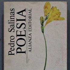 Libros de segunda mano: POESÍA. PEDRO SALINAS. Lote 269147318