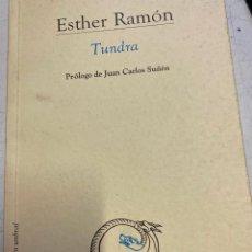 Libros de segunda mano: RAMON, ESTHER. - TUNDRA.. Lote 269462433
