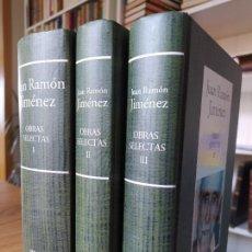 Libros de segunda mano: JUAN RAMON JIMENEZ, OBRAS SELECTAS. EDICIÓN DE RBA A CARGO DE ANGEL CRESPO. OBRA COMPLETA.. Lote 269940578
