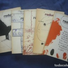 Libros de segunda mano: REDUCCIONS. REVISTA DE POESIA (NUMEROS 1, 2, 3, 4 Y 5). (BARCELONA, 1977). Lote 269941718