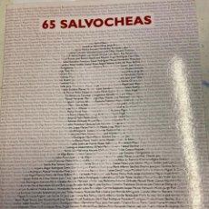 Libros de segunda mano: GUTIERREZ MOLINA / ALARCON ALMOGUERA, JOSE LUIS/ JUAN. - 65 SALVOCHEAS. POEMARIO CONMEMORATIVO DEL 1. Lote 269945758