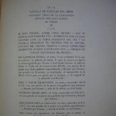 Libros de segunda mano: GAVILLA DE FABULAS SIN AMOR PICASSO C,J,CELA 1962 FIRMADO Y DEDICADO (DOS FIRMAS Y UNA DEDICACION). Lote 269968058