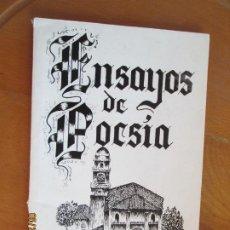Libros de segunda mano: CARLOS LOIDI - ENSAYOS DE POESÍA - 1968 - DEDICATORIA DEL AUTOR.. Lote 269970568