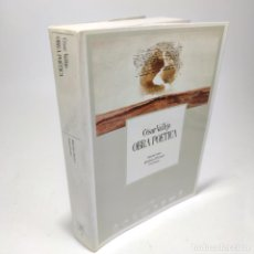 Libros de segunda mano: OBRA POÉTICA. CÉSAR VALLEJO. EDICIÓN CRITICA. AMÉRICO FERRARI. PRIMERA EDICIÓN. 1988. MADRID.. Lote 270003923