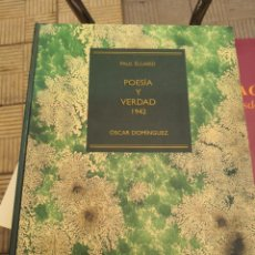 Libros de segunda mano: PAUL ELUARD - POESIA Y VERDAD 1942. CON ILUSTRACIONES DE OSCAR DOMINGUEZ. Lote 270141288