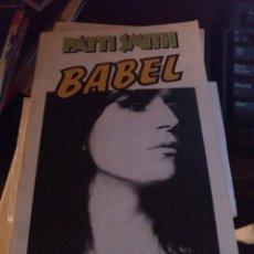Libros de segunda mano: PARTO SMITH. BABEL. ANAGRAMA 1979. Lote 270410508
