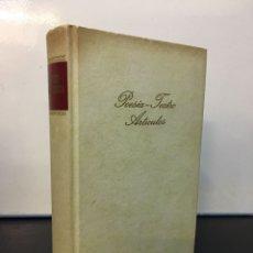 Libros de segunda mano: LIBRO POESÍA Y TEATRO ARTÍCULOS DE FEDERICO GARCÍA LORCA. AÑO 1968.. Lote 271149658