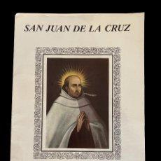 Libros de segunda mano: SAN JUAN DE LA CRUZ , ANTOLOGÍA POÉTICA Y GRABADOS.1988, PRECIOSO. Lote 272330333